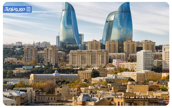 هزینه ی سفر به باکو