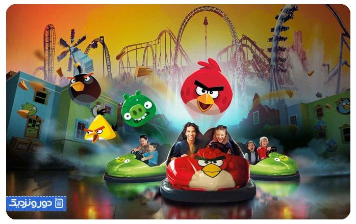 پارک انگری بردز دوحه یا پرندگان خشمگین Angry Birds World