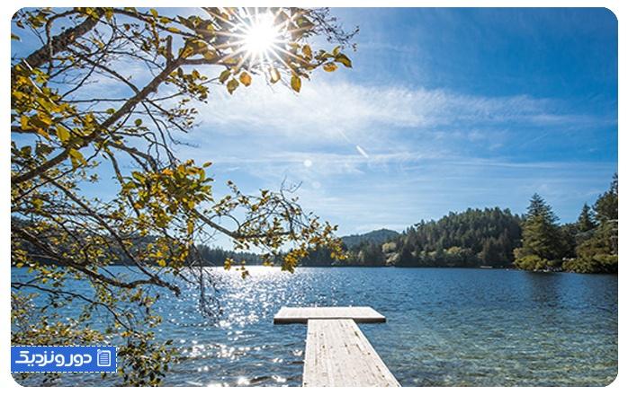 گرم ترین شهرهای کانادا سانشاین کوست Sunshine Coast