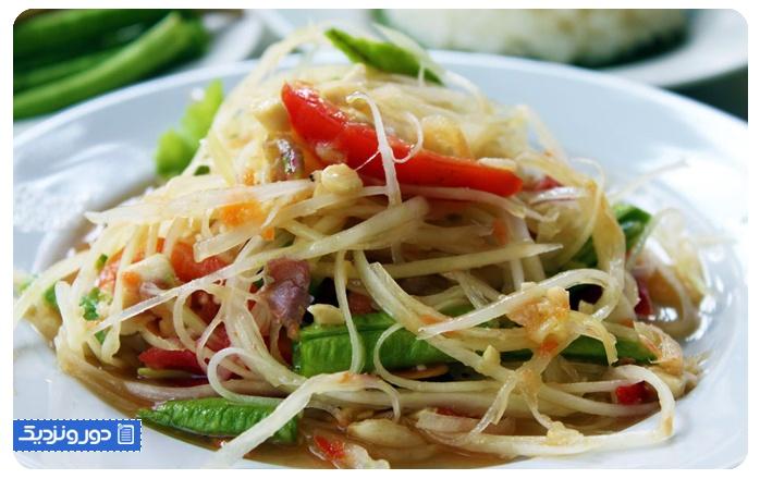 معروفترین غذاهای تایلندی