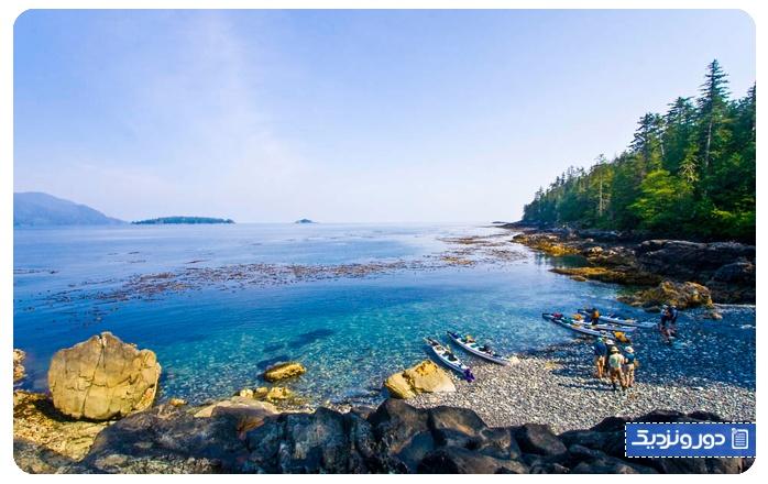 جاذبه های پنهان کانادا هایدا گوایی (Haida Gwaii)