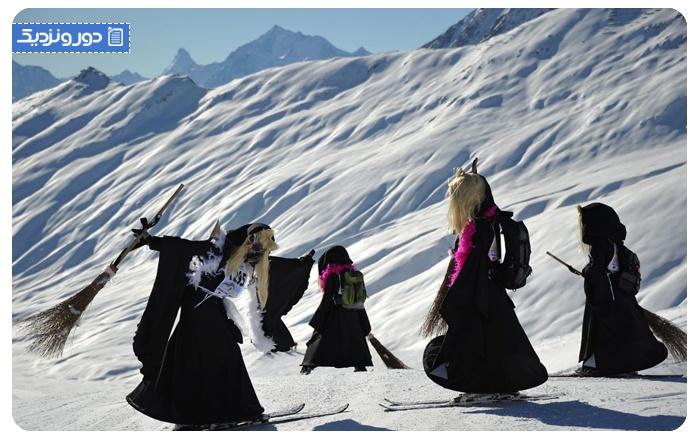 رسوم عجیب سوئیس