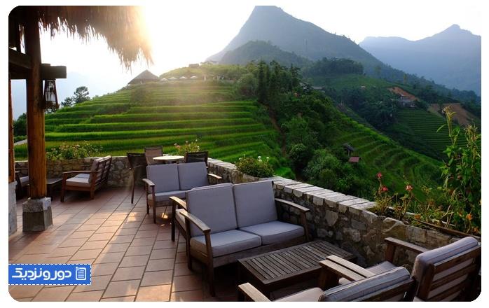 آرامش بخشترین هتل دنیا امکانات