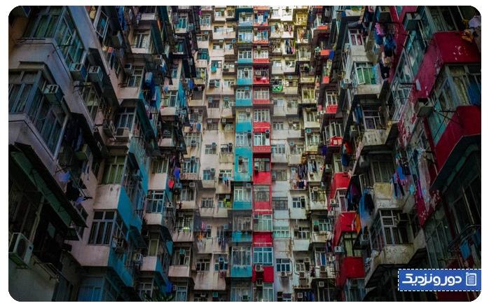 تاریخچه ساختمان هیولا در هنگ کنگ