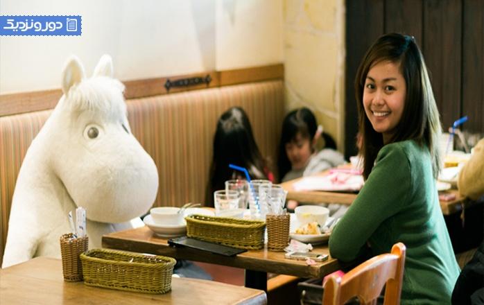 معرفی بهترین تم کافه های توکیو
