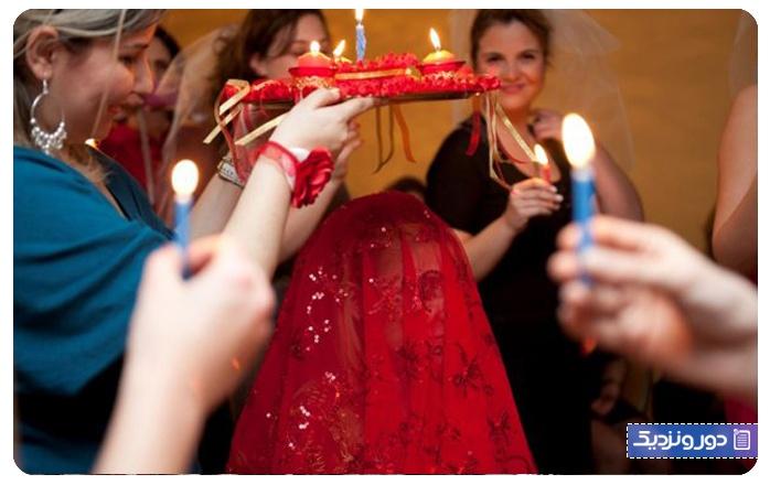 مراسم حنابندان آداب و رسوم مردم ترکیه