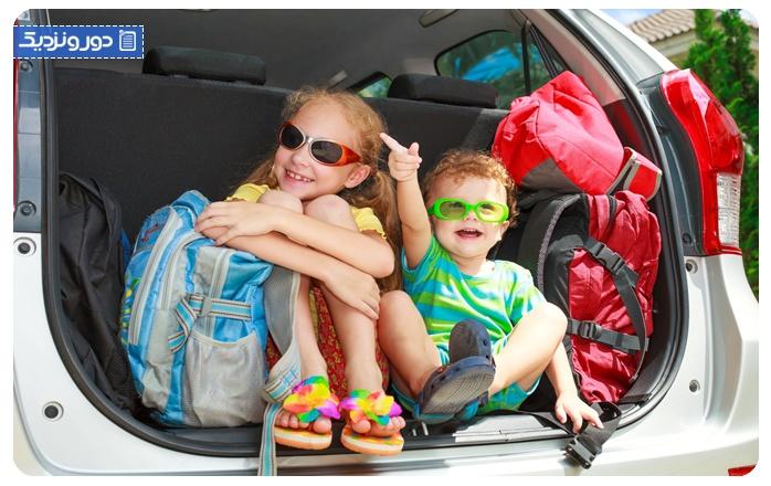 راهنمای سفرهای جاده ای با کودکان 1