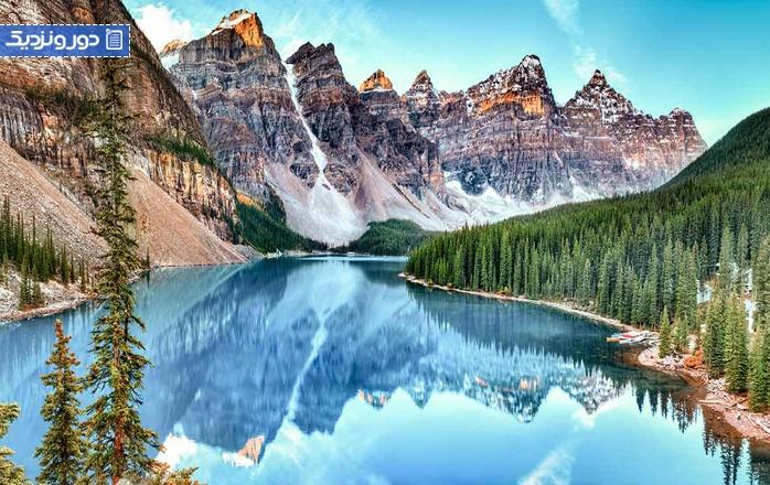 جاذبه های پارک ملی بنف در کانادا