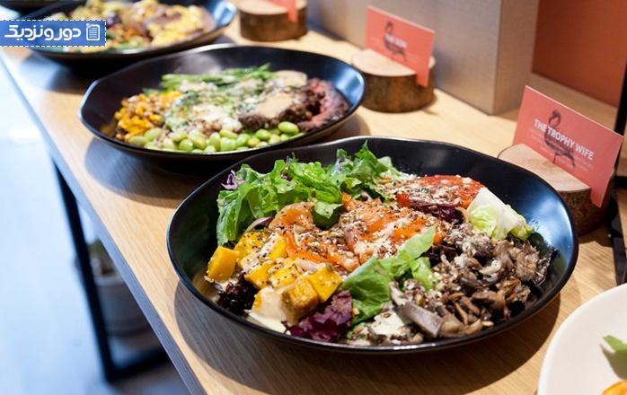 رستوران های گیاهی جاکارتا