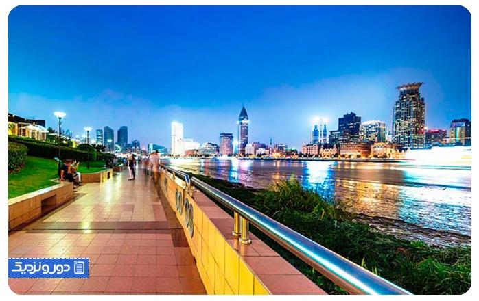 قایق سواری و قدم زدن در اطراف بین جیانگ دادائو