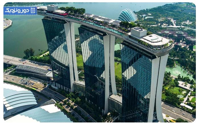 هتل مارینا بی سندز سنگاپور - Marina Bay Sands