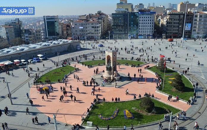 همه چیز درباره میدان تکسیم Taksim