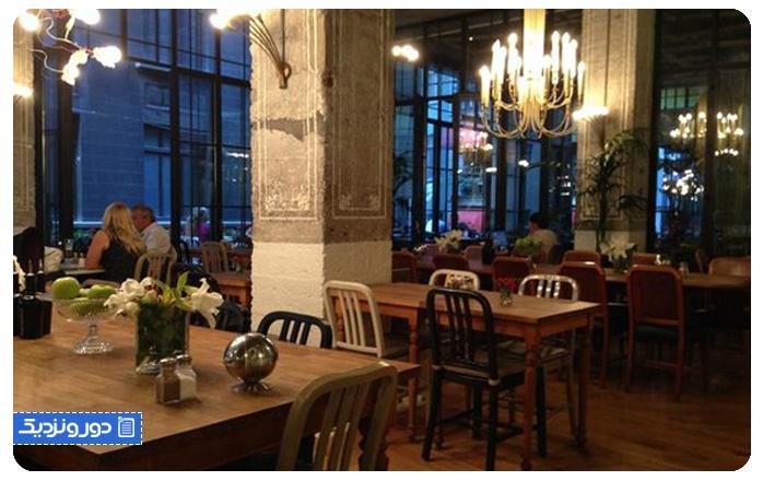 رستوران هاوس کافه The House Cafe تکسیم