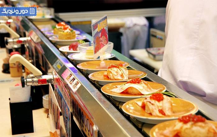 چگونه در کایتن سوشی باید غذا سفارش داد؟