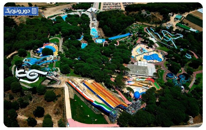 بهترین پارک های آبی بارسلون
