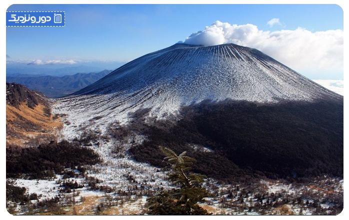 معروف ترین آتشفشان های ژاپن کوه آساما