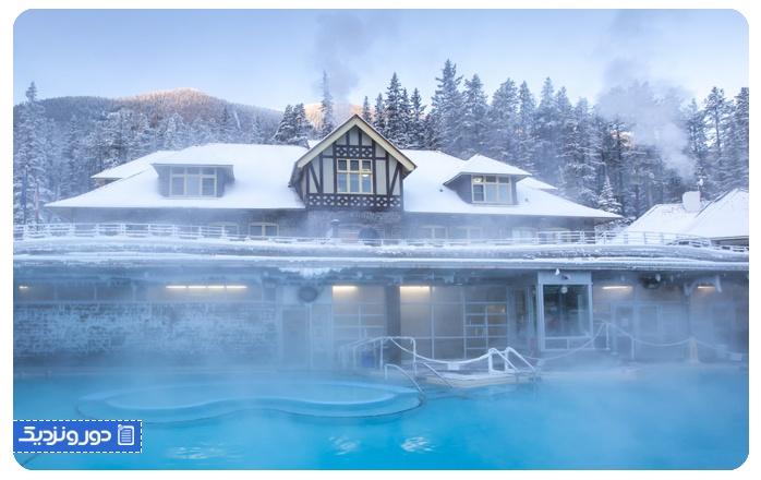 جاذبه های پارک ملی بنف Banff
