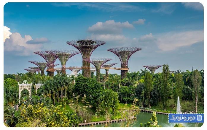 باغ گیاه شناسی سنگاپور و پارک فورت کانینگ سنگاپور