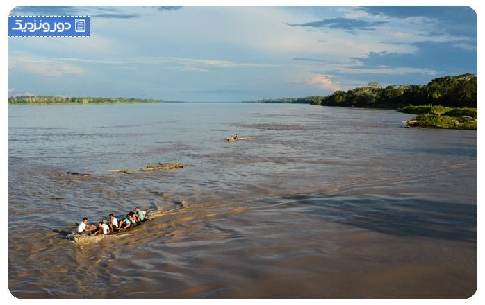 پر آب ترین کشورهای دنیا برزیل
