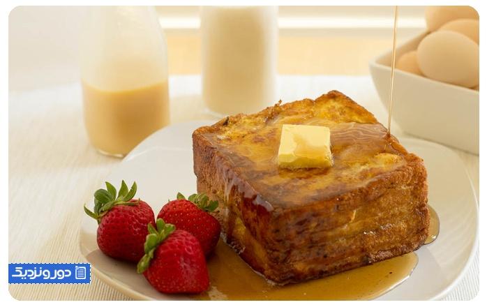 تست فرانسوی- هنگ کنگ French toast