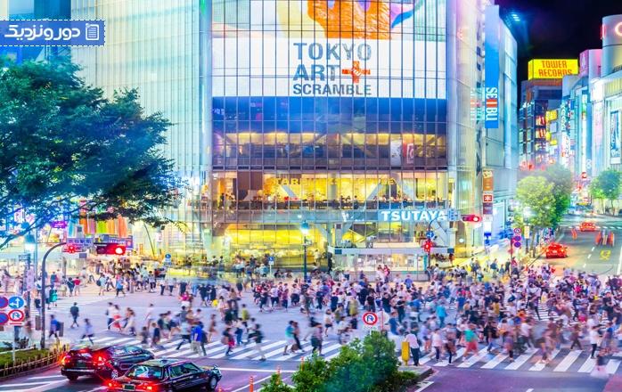 همه چیز درباره تقاطع شیبویا در ژاپن