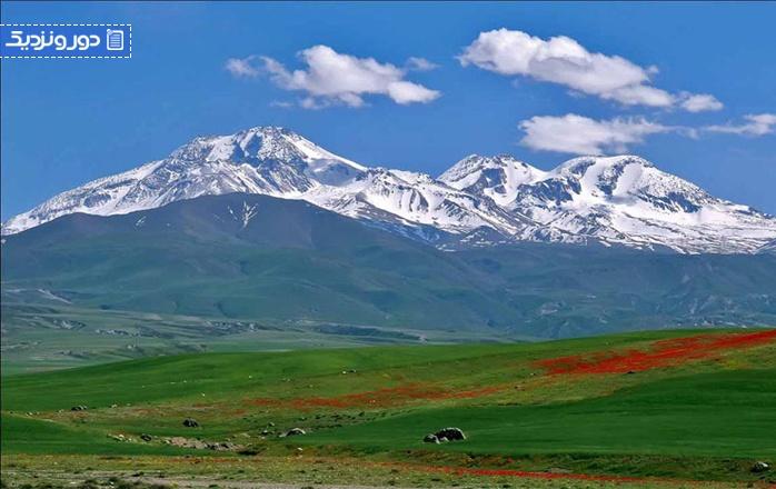 خنک ترین شهرهای ایران در تابستان