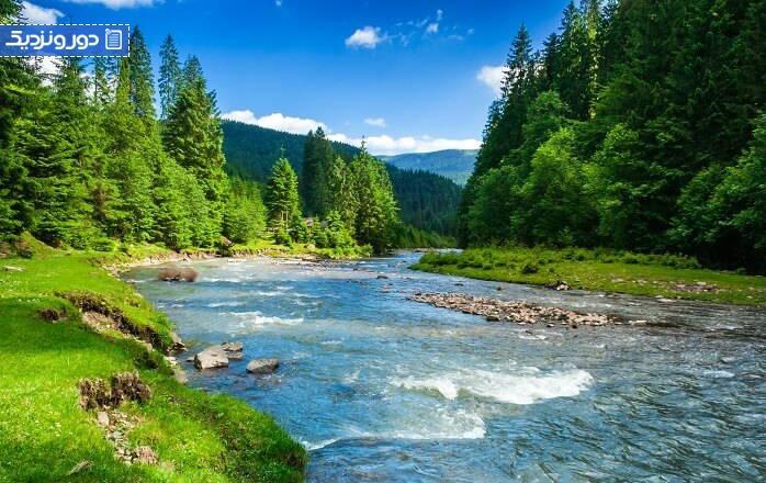دیدنیترین رودخانههای جهان در کجا قرار دارند؟