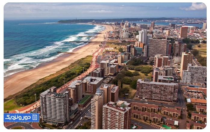 شهرهای آفریقای جنوبی پیشرفته نیستند