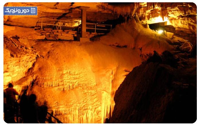 غار ماموت، آمریکا Mammoth Cave National Park