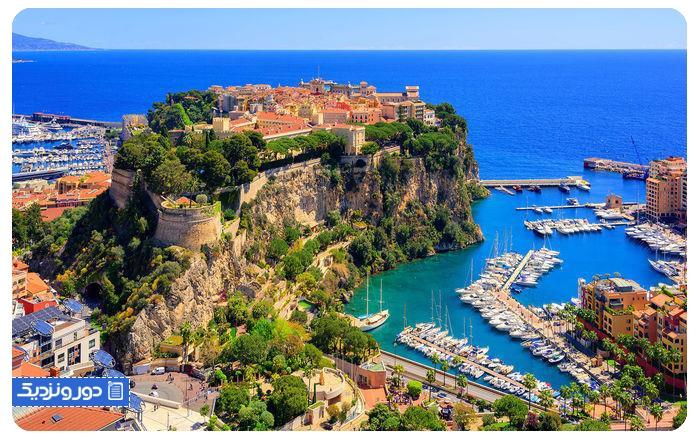 موناکو، ۲ کیلومتر مربع - Monaco