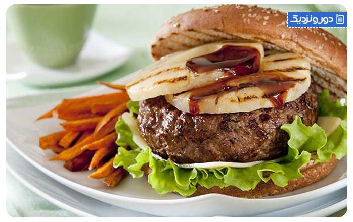 همبرگر-آلمان Hamburger