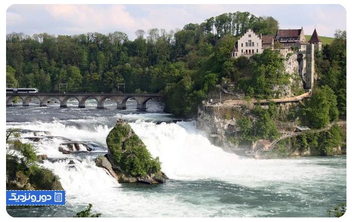 آبشار رِن Rhine falls