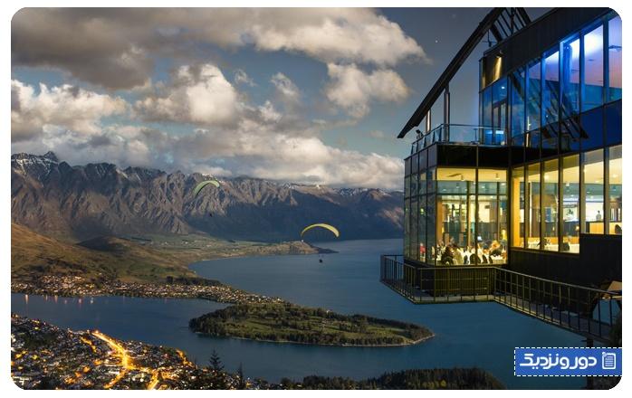 اسکای لاین کوئینز تاون-نیوزلند Skyline Queenstown