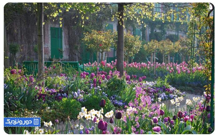 باغ کلود مونه، شمال فرانسه