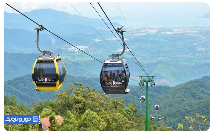 باناهیل-ویتنام Ba Na Hills Cable Car