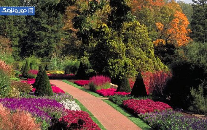 زیباترین باغ گل های دنیا