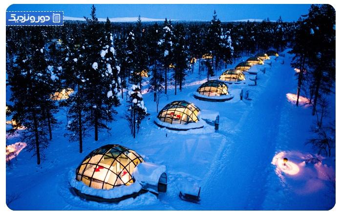 شفق-قطبی-فنلاند