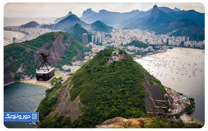 شوگِرلُف مانتِین-برزیل Sugarloaf Mountain Gondola