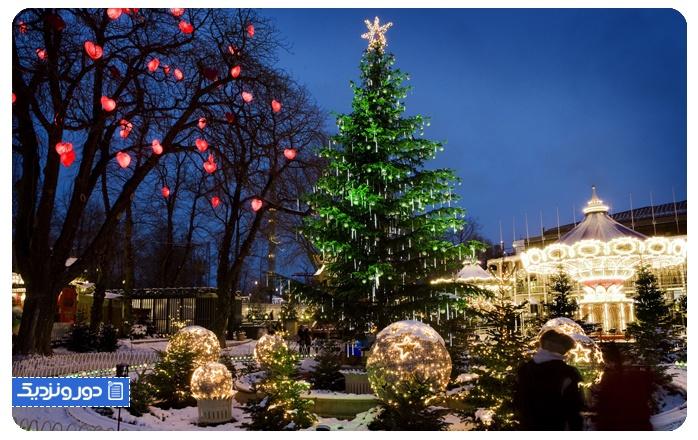 باغهای تیوولی Tivoli Gardens