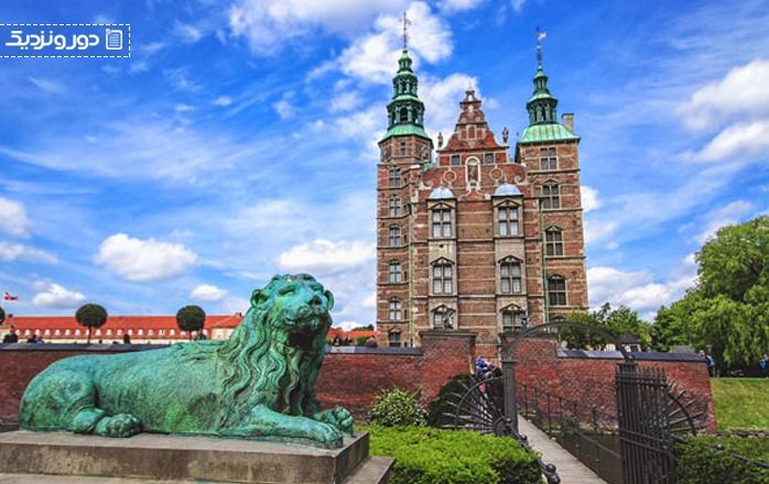 با قلعه روزنبرگ در دانمارک آشنا شوید