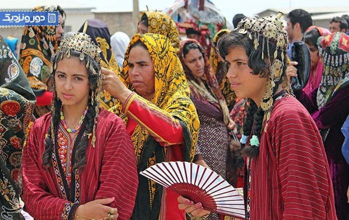 زیباترین لباسهای محلی ایرانی را بشناسید