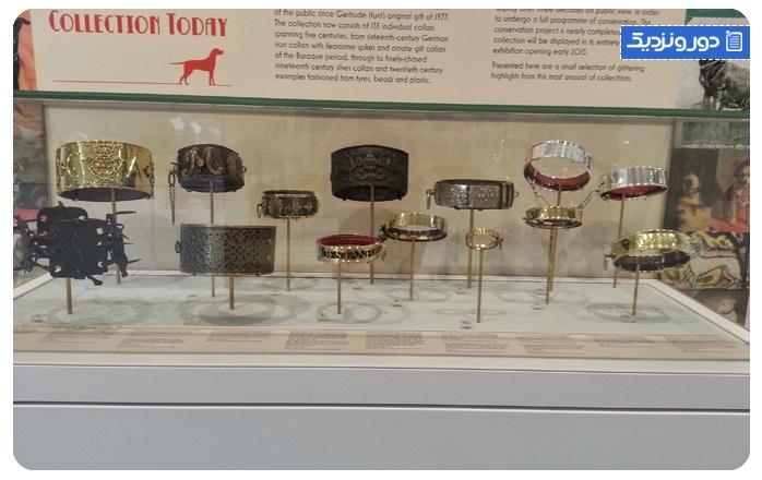 موزه قلاده سگ-انگلستان The Dog Collar Museum