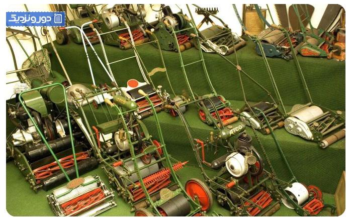 موزه ماشین چمنزنی-انگلستان British Lawnmower Museum