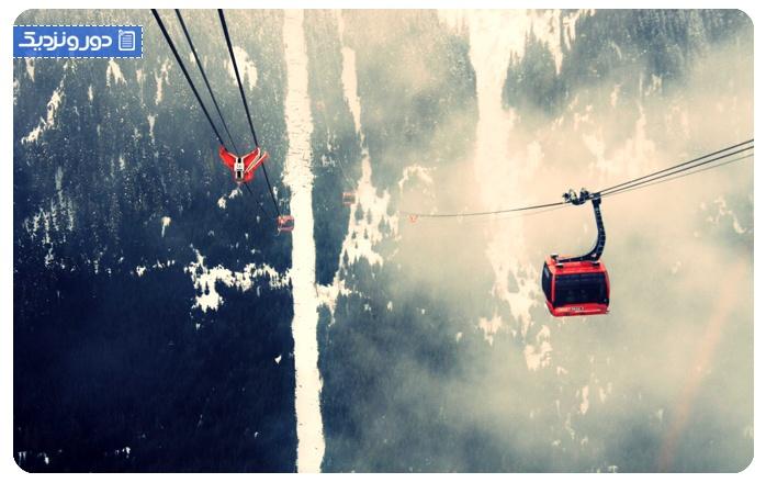 پیکتوپیک - کانادا Peak2peak Gondola