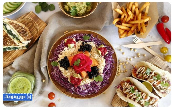 رستوران گیاهی امارات