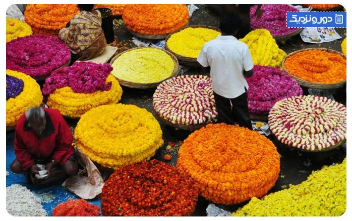 بازار کریشنا راجندرا Krishna Rajendra (KR) Market