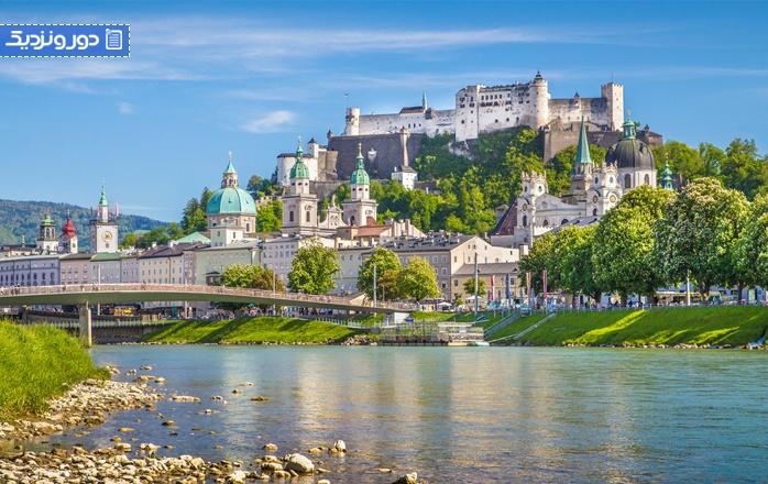 از مونیخ به سالزبورگ با قطار