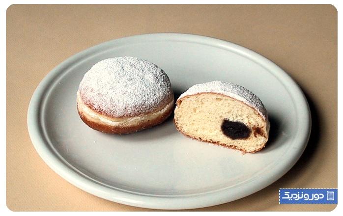 شیرینی-خامه-ای-Boules-de-Berlin