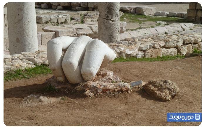 معبد هرکول ویرانه ای بیاد ماندنی Temple of Hercules