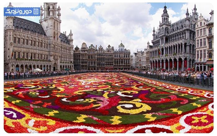 کاخ بزرگ بروکسل Brussels's Grand-Place